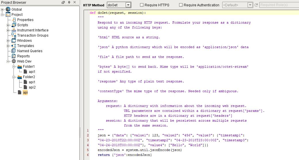 Web Development in Ignition SCADA